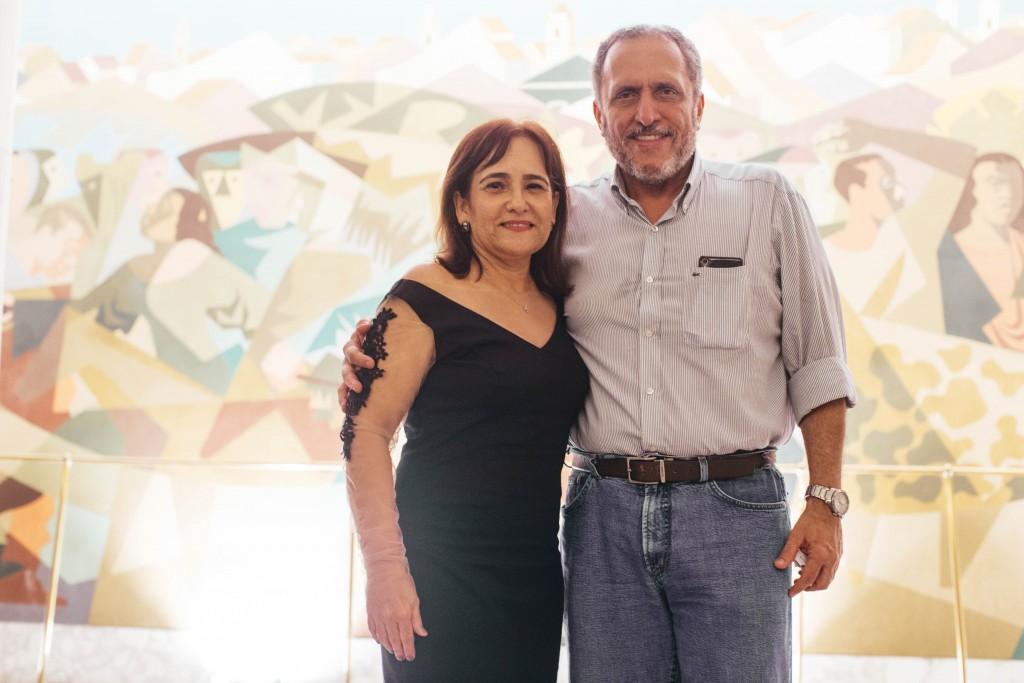 Sandra e Alfredo Bertini - Crédito: Lana Pinho/Divulgação