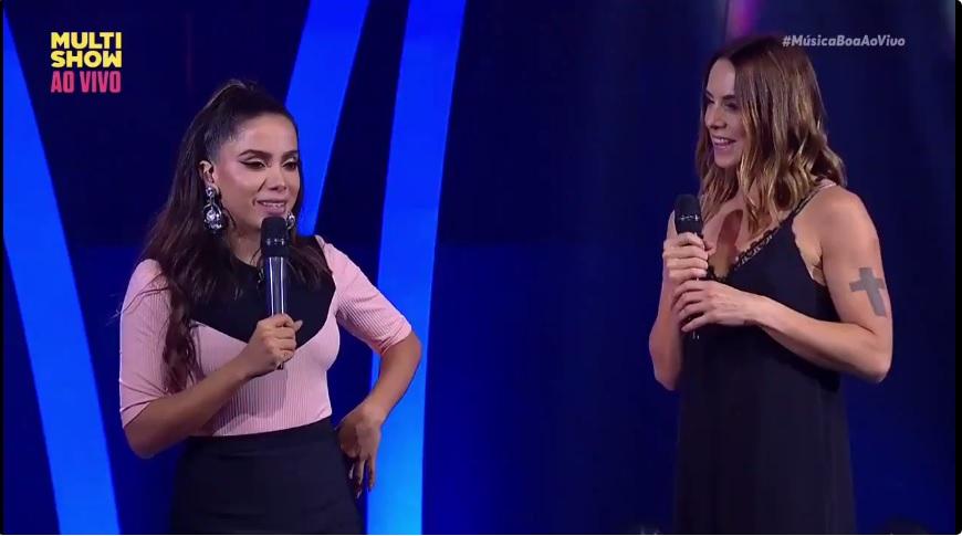 Cantoras apresentaram hit das Spice Girls - Crédito: Reprodução/Multishow