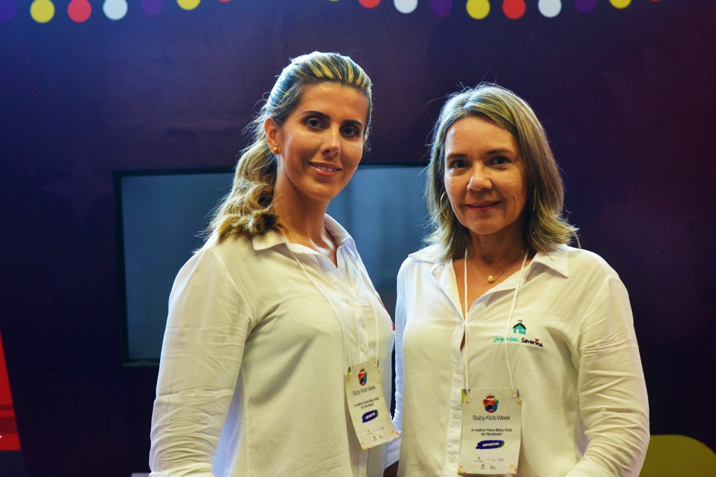 Michelle Almeida e Giovana Dias - Crédito: Livia Franco/Divulgação