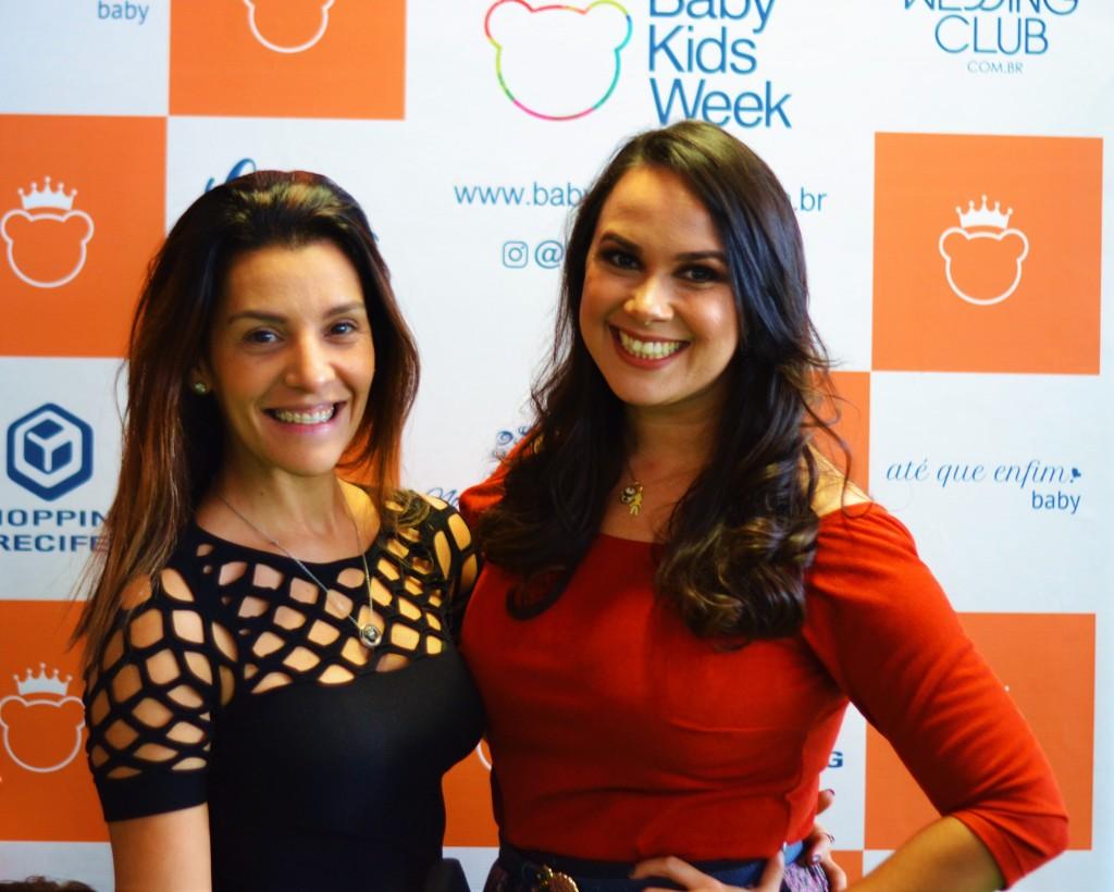 Isabella Alves e Nina Lacerda - Crédito: Livia Franco/Divulgação