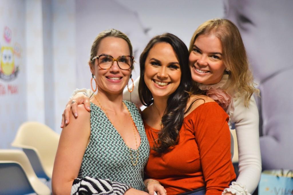 Juliana Martins, Nina Lacerda e Juliana Lins - Crédito: Livia Franco/Divulgação