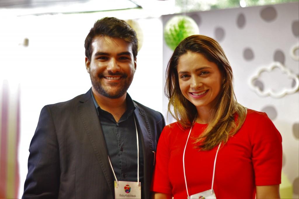 Roger Mansur e Rafaela Pontual - Crédito: Livia Franco/Divulgação