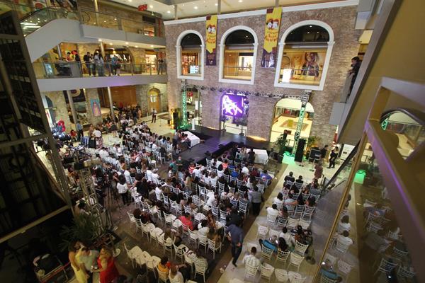 O evento aconteceu no Shopping Paço Alfândega - Crédito: Roberto Ramos