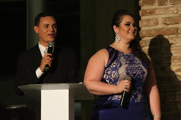 Rodrigo de Luna e Bruna Sobreira - Crédito: Roberto Ramos