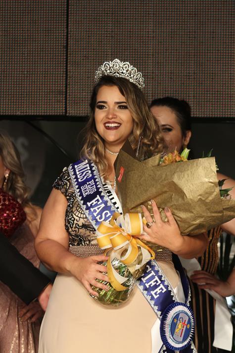 Miss Plus Size Fashion Recife 2017 Nathalia Granja - Crédito: Roberto Ramos