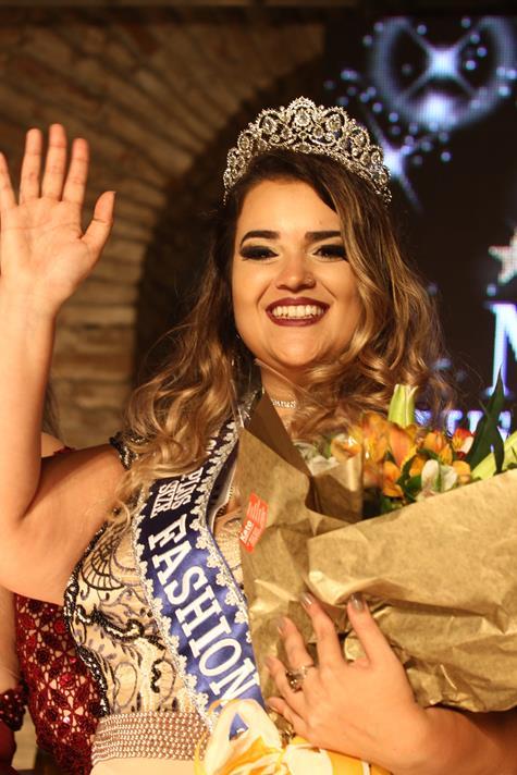 Nathalia Granja é a Miss Plus Size Fashion Recife 2017 - Crédito: Roberto Ramos