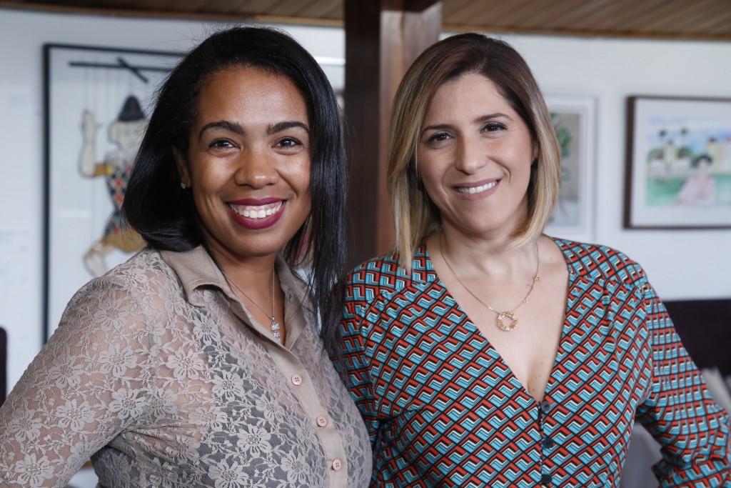 Gil Santos (Gil Santos Studio)  e Cinthia Almeida (Depp) - Crédito: Gleyson Ramos/Divulgação