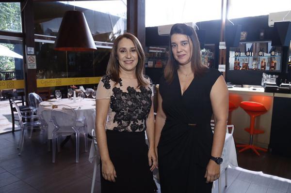 Tânia L'armée (L'armée) e Virginia Campello (Casa da Beleza) - Crédito: Gleyson Ramos/Divulgação