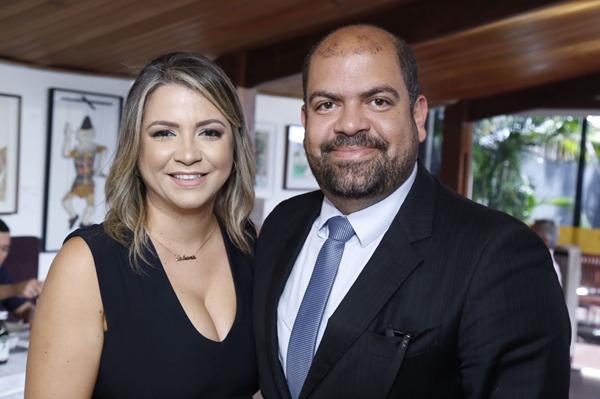 Tatiana e Felipe Brito - Tatiana Brito Espaço de Beleza - Crédito: Gleyson Ramos/Divulgação