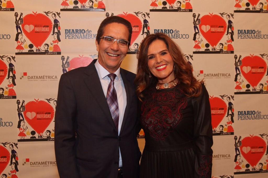 Maurício e Patrícia Rands - Crédito: Roberto Ramos/DP