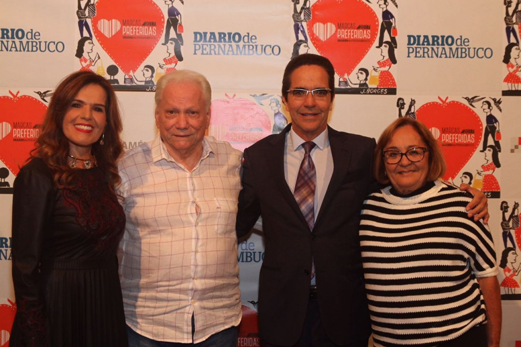 Patrícia Rands, Antonio Carlos Vieira, Maurício Rands - Crédito: Roberto Ramos/DP
