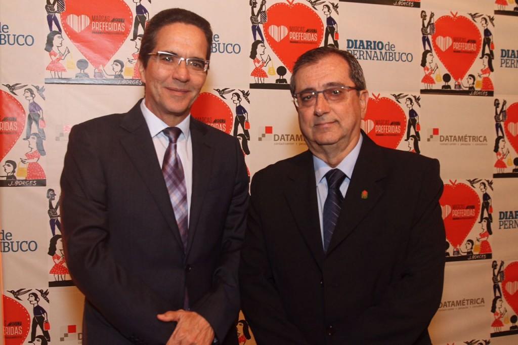 Maurício Rands e Joaquim Amorim, do Real Hospital Português - Crédito: Roberto Ramos/DP