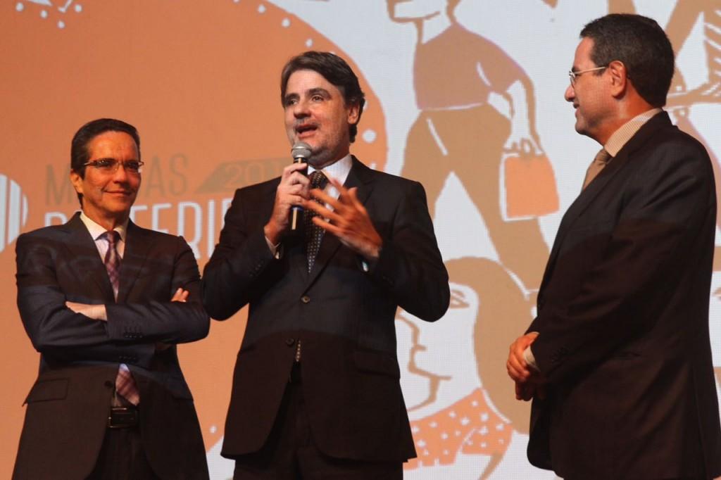 Mauricio Rands, Raul Henry e Alexandre Rands - Crédito: Roberto Ramos/DP