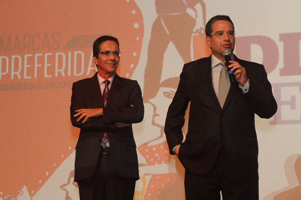 Mauricio e Alexandre Rands - Crédito: Roberto Ramos/DP