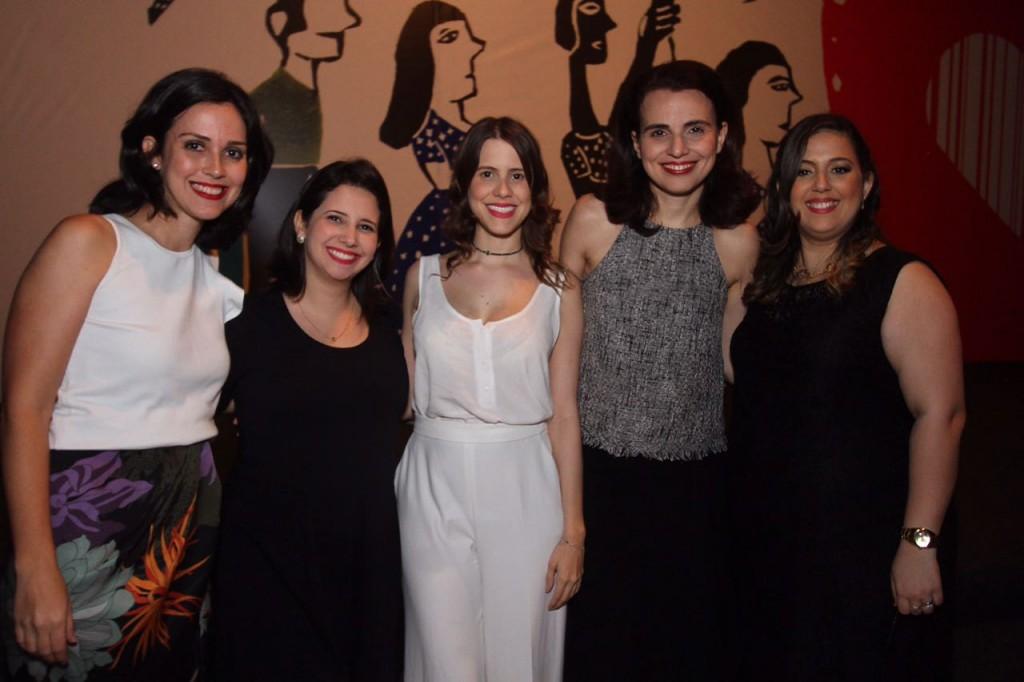 Ana Luísa Chaves, da Agência Arcoss, Camila Chidid, Eduarda Dubeux e Maria Paula Londres, da Moura Dubeux - Crédito: Roberto Ramos/DP