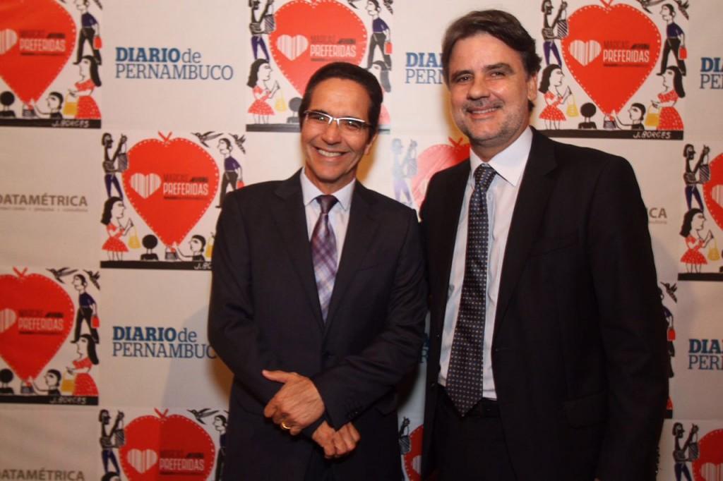 Mauricio Rands e Raul Henry - Crédito: Roberto Ramos/DP