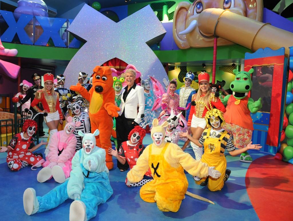 Turma da Xuxinha estará na Villa Kids - Crédito: Divulgação