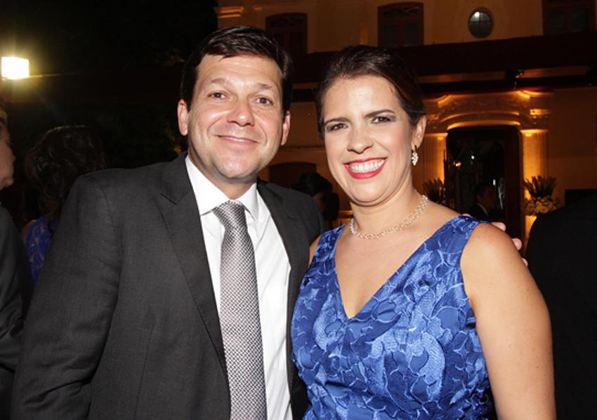Geraldo Julio e Cristina Melo/Andréa Rego Barros