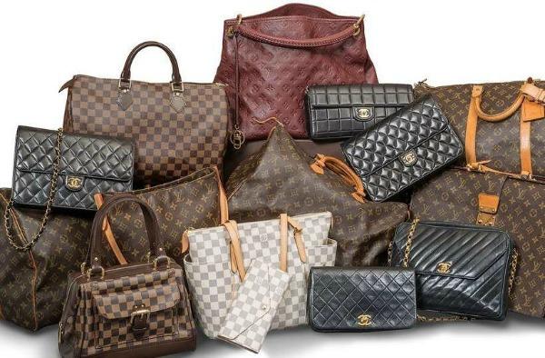 Bolsas de várias marcas de luxo - Crédito: Divulgação