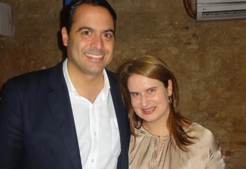 Paulo Câmara e Ana Luiza