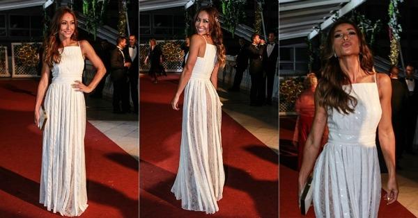 Sabrina Sato usando um vestido Reinaldo Lourenço - Crédito: Divulgação