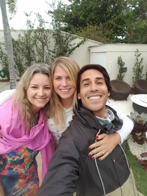 Cyntya, Susana e Jayme - Crédito: Divulgação