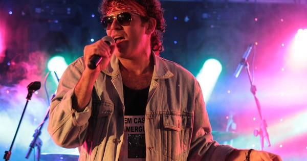 Valério Cazuza é cover oficial do artista - Crédito: Divulgação