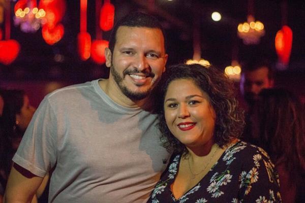 Gustavo Verçosa e Jana Constantino - Crédito: André Valença