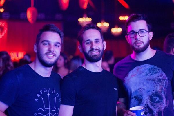Renato Mota, Eduardo Maya e Diogo Campello - Crédito: André Valença
