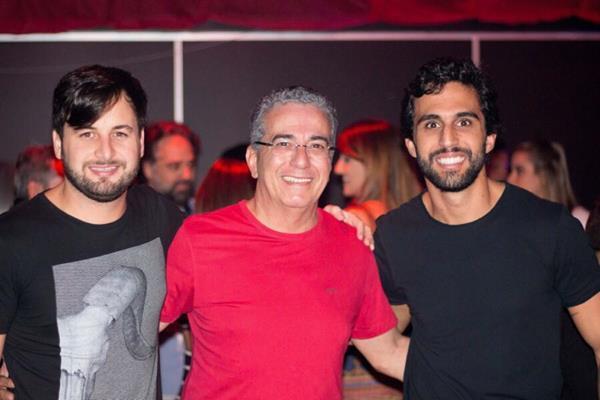Rodrigo Carvalheira, Igor Gomes e Henrique Gomes - Crédito: André Valença