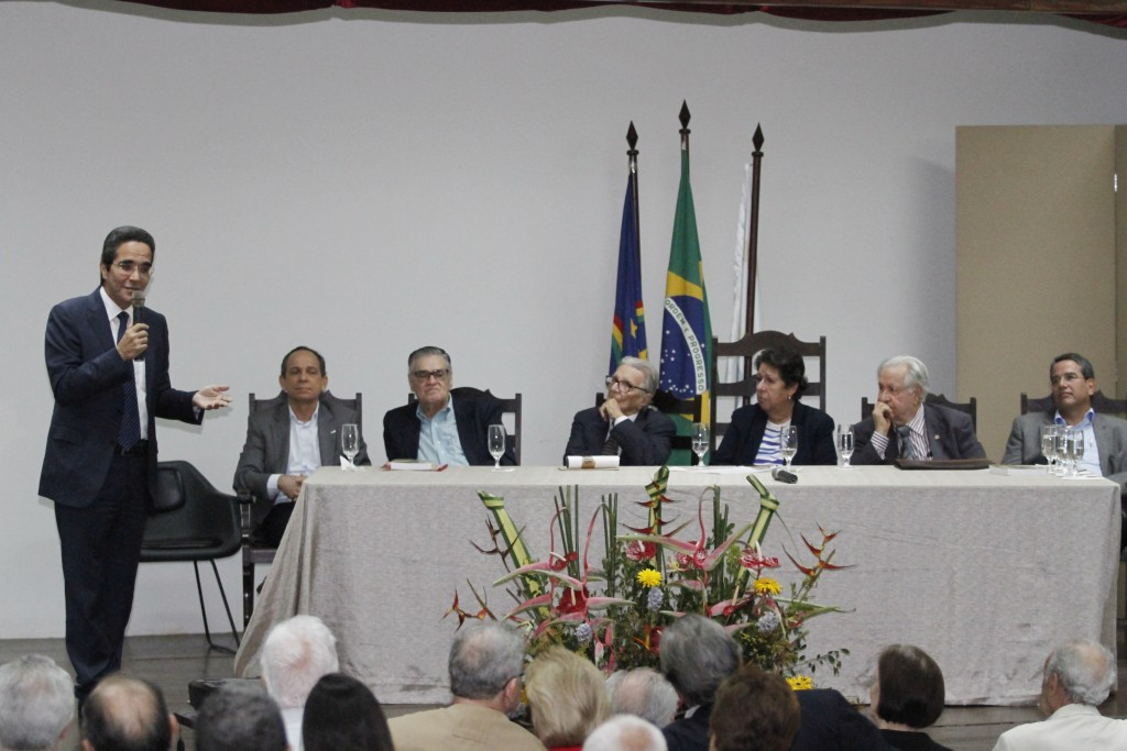 Maurício Rands, vice-presidente do Diario, falou sobre a importância da Rádio Clube - Crédito: Ricardo Fernandes/DP