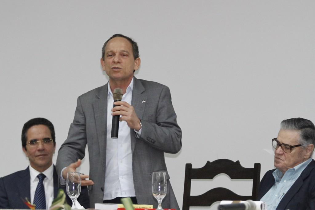 Marcelino Granja, Secretário de Cultura de Pernambuco estava na solenidade - Crédito: Ricardo Fernandes/DP
