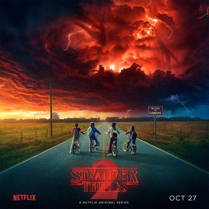 Netflix divulgou o pôster da série - Crédito: Reprodução/Twitter