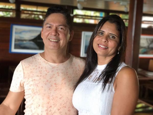 Fernando e Soraia comandam o Varanda, em Noronha - Crédito: Thayse Boldrini/DP
