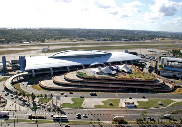O Aeroporto Internacional do Recife/Guararapes - Gilberto Freyre - Crédito: Divulgação