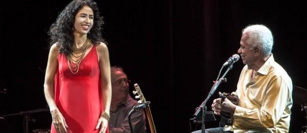 Marisa Monte e Paulinho da Viola1 farão show no Classic Hall, dia 1º de setembro - Crédito: Foto: M Rossi / Divulgação