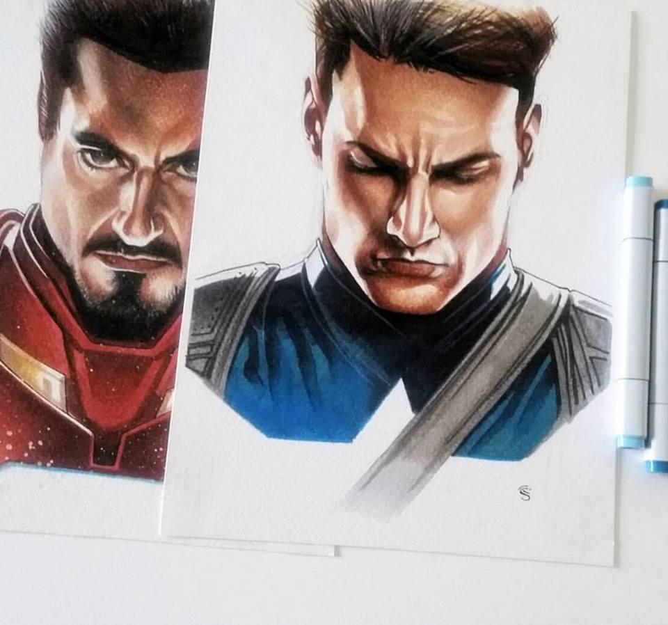Thony Silas já desenhou para a Marvel e DC - Crédito: Divulgação