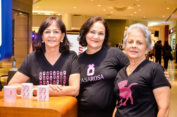 Bruna Trajano, Kadja Camilo e Cristina Maranhão - Crédito: Divulgação