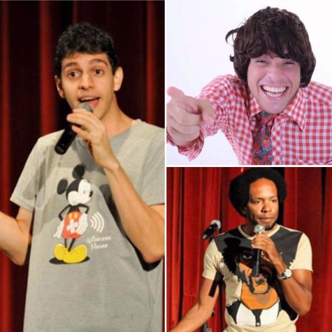 Gustavo Pardal, Flávio Andrade e Kedny Silva - Crédito: Divulgação