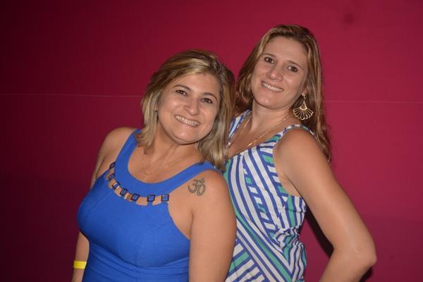 Rivania Queiroz e Adriana Moura - Crédito: Felipe Souto Maior