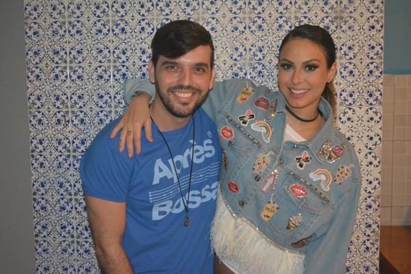 Rodrigo Porto e Alline Rosa - Crédito: Felipe Souto Maior