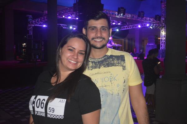 Dani Ramalho e Claudio - Crédito: Felipe Souto Maior