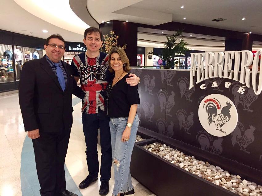 Paulo Guedes, Fernando e Tatiana Pimentel
