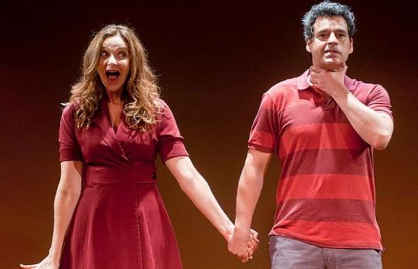 Bruno Garcia e Alexandra Richter apresentam o espetáculo, A história de nós dois, no Teatro RioMar - Crédito: Divulgação do espetáculo