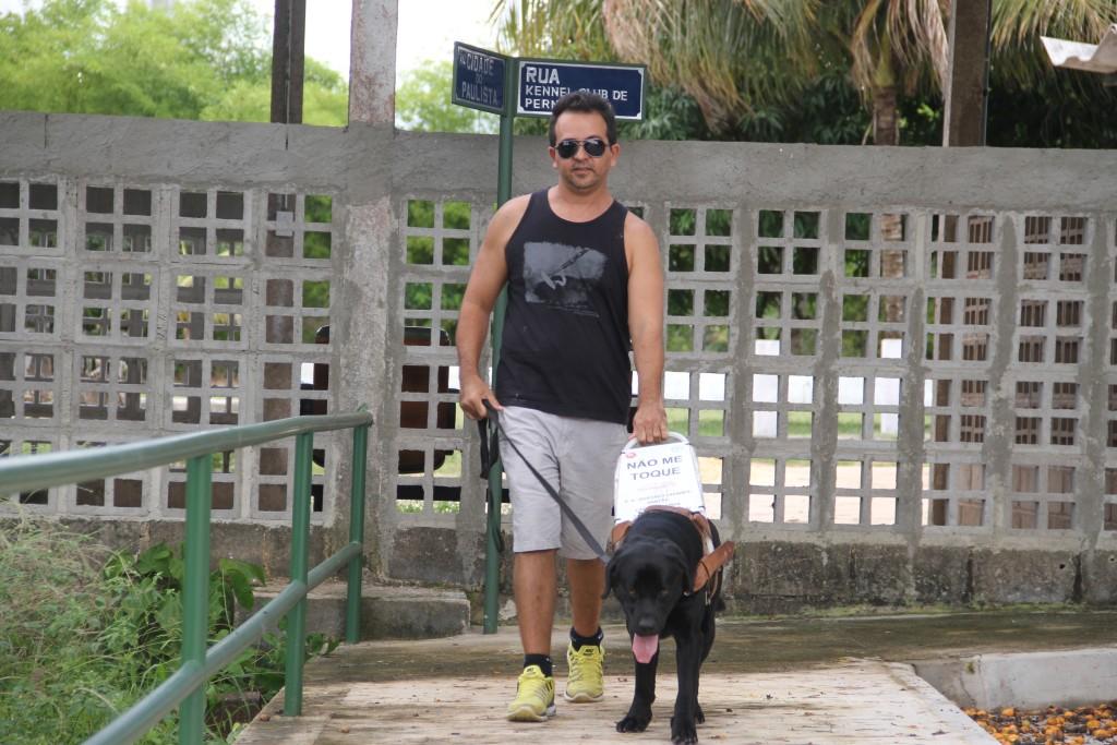 O cão Argos será entregue como cão-guia - Crédito: Divulgação/KCEP