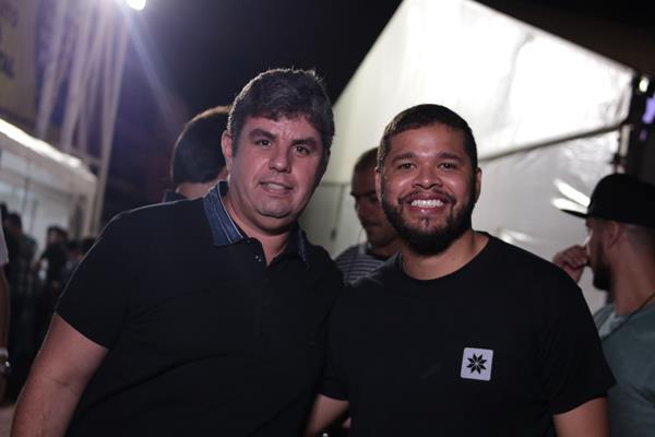 Rogerio Paes e Carlos -  Crédito: Luiz Fabiano/Divulgação