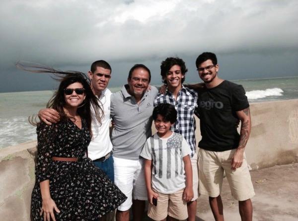 Nayane, Diego, Hayrton, Diego, Pedro e Cayo - Crédito: Divulgação