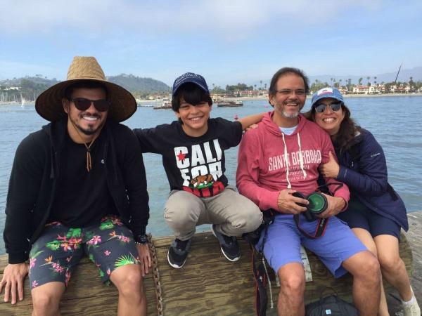 Cayo, Davi, Hayrton e Edna - Crédito: Divulgação