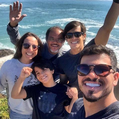 Edna, Hayrton, Pedro, Davi e Cayo - Crédito: Divulgação