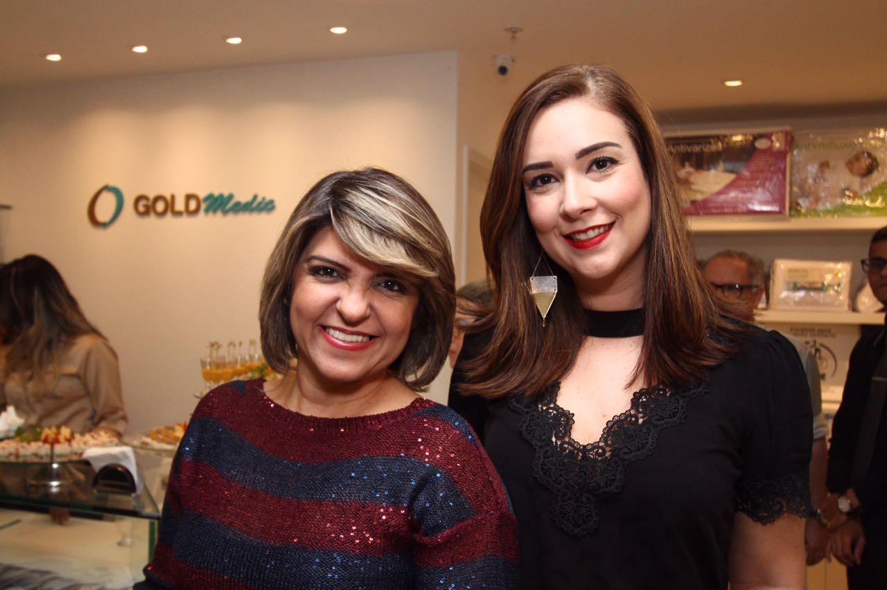 Cláudia Melo e Mariana Calou